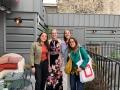 Alexa Elias, Clara Schaeffer, Catherine Bither et Lorène Piquet