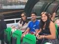 Daniela Alvarez, Nicolas Moran et Paulina Veliky