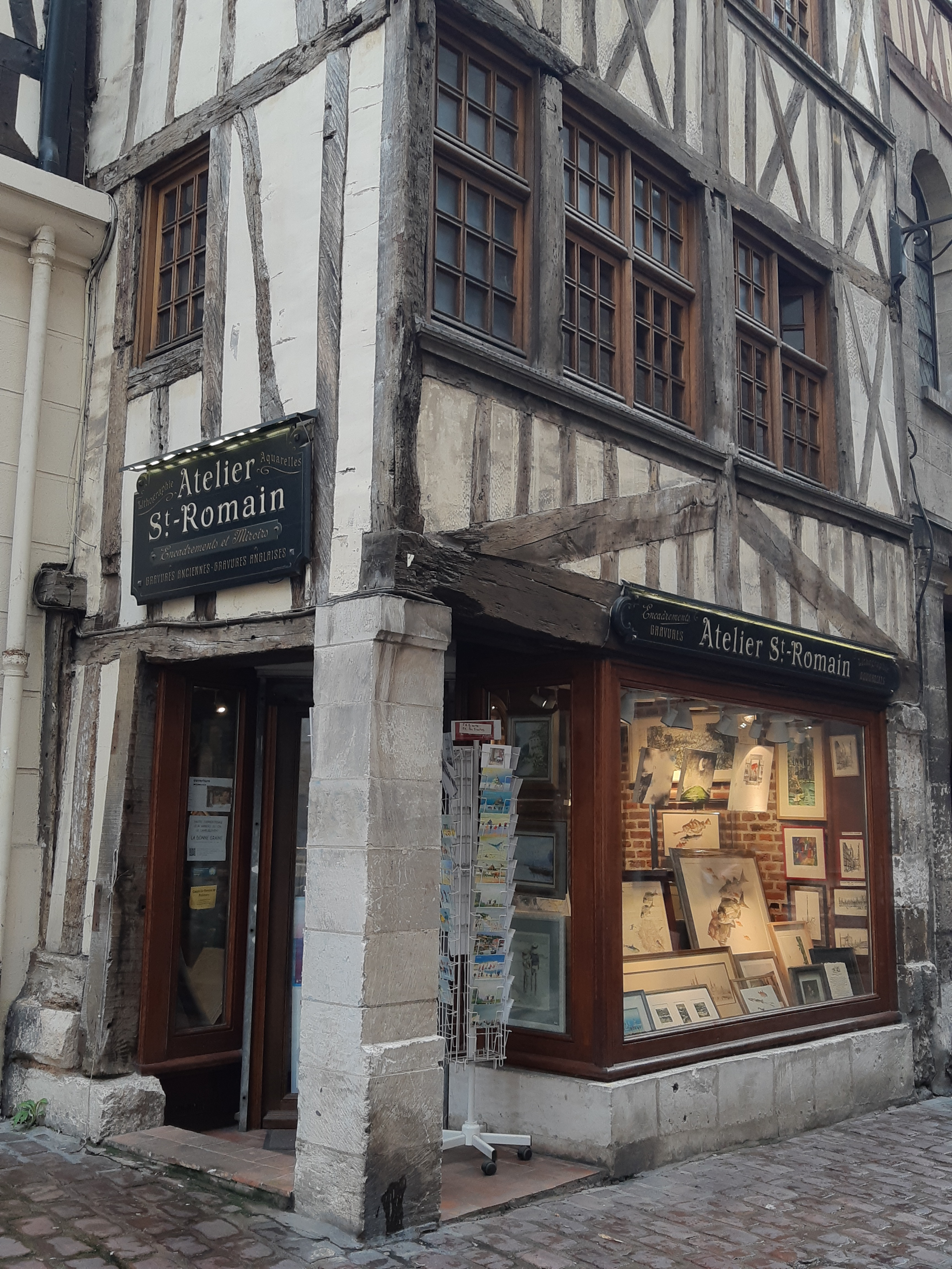 Le charme des ruelles de Rouen
