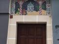 Entrée d'une mosquée