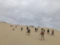 Ascension de le dune du Pilat